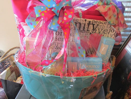 A basket for the 19th annual Beacon Auction, donated