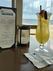 The McLoone's Margarita at McLoone's Pier House.