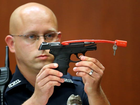 Geroge Zimmerman gun