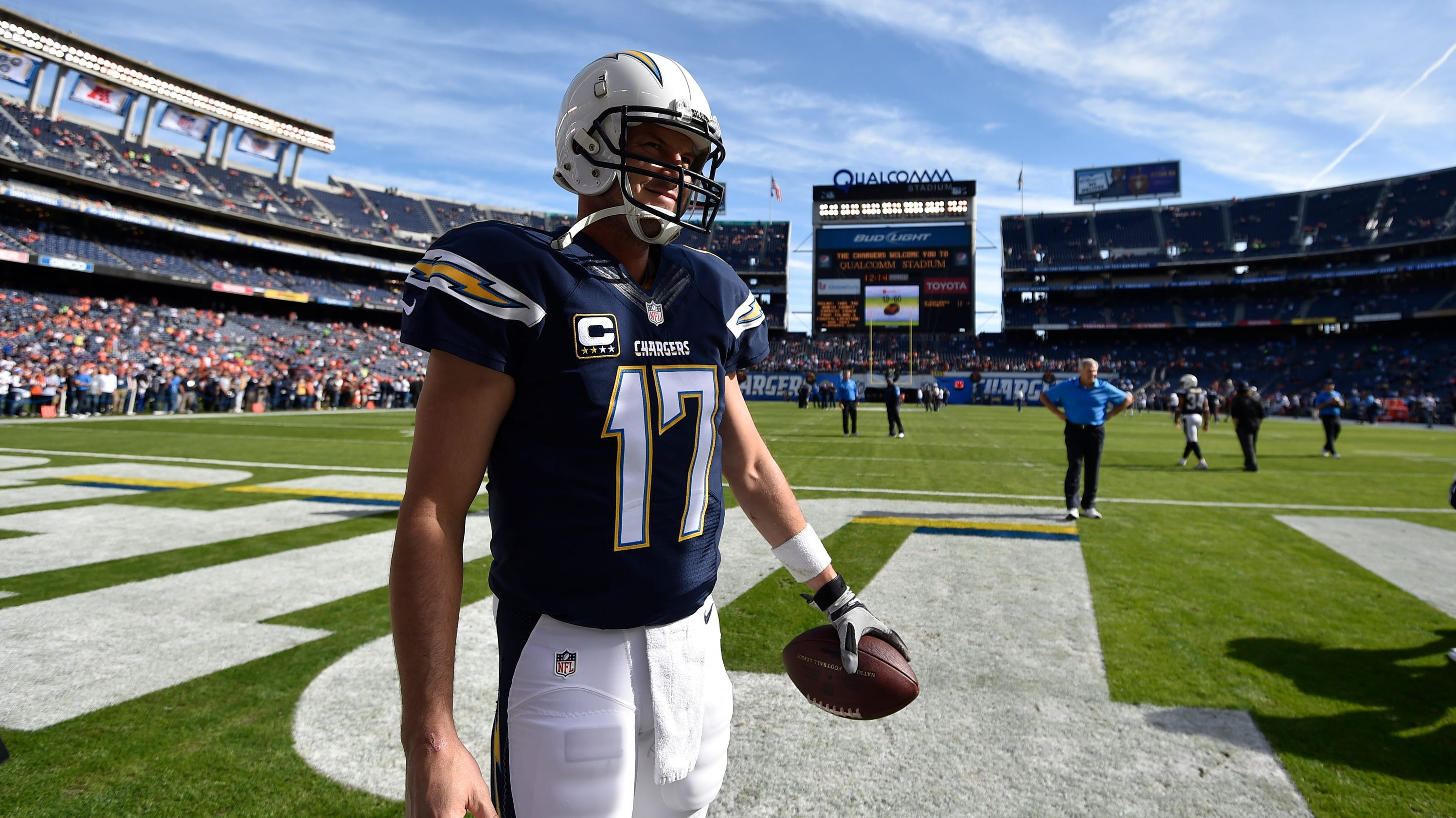 Chargers To Play Perhaps Their Final Home Game In San Diego