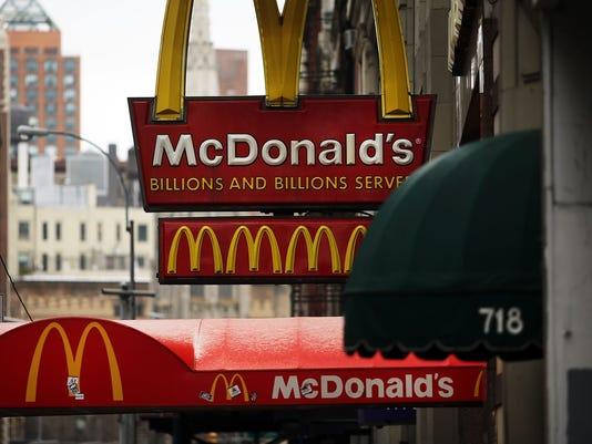 McDonald's to ban chicken treated with human antibiotics