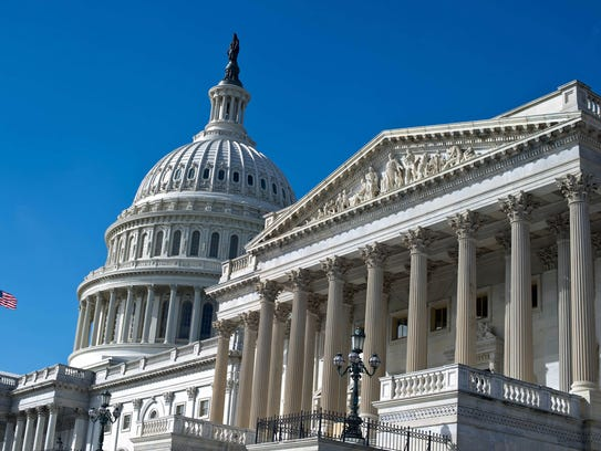 The U.S. Capitol is seen on September 28, 2013 in Washington.