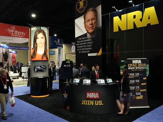 La NRA participa se involucra en una gran cantidad