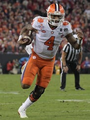 Clemson quarterback Deshaun was a two-time Heisman