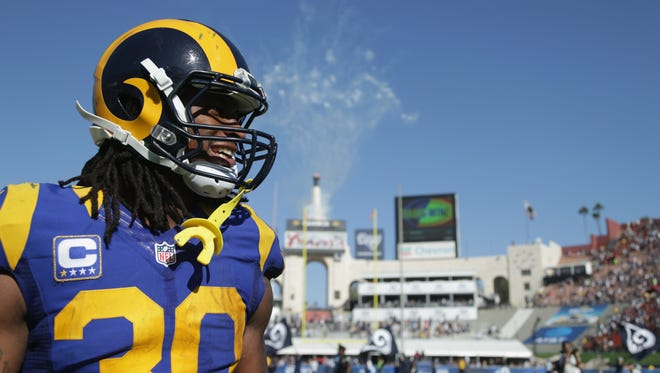 Todd Gurley of the Los Angeles Rams.
