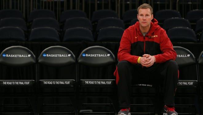 Iowa State basketball coach Fred Hoiberg