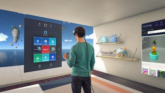 Microsoft announced Wednesday that five manufacturers will be selling tethered VR headsets that will be powered by Windows Holographic, presenting consumers with a lower-cost entry into the world of virtual reality than Oculus Rift and HTC Vive, which require powerful PCs to run the associated software.