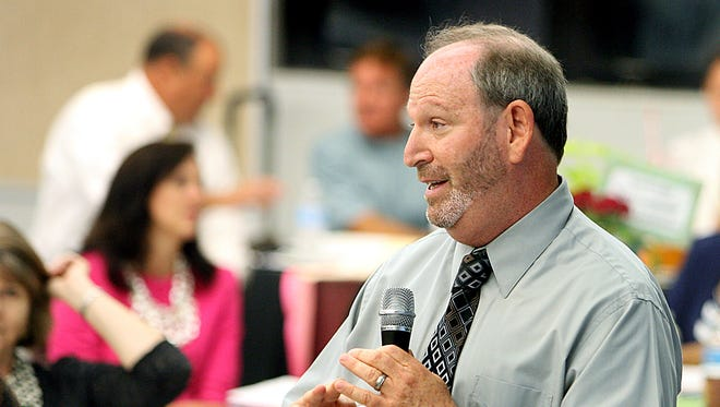 Stu Greenberg, Chief Academic Officer for Leon County Schools
