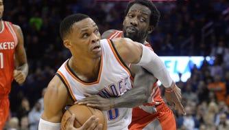 Russell Westbrook is on the NBA's longest triple-double streak in 27 years.