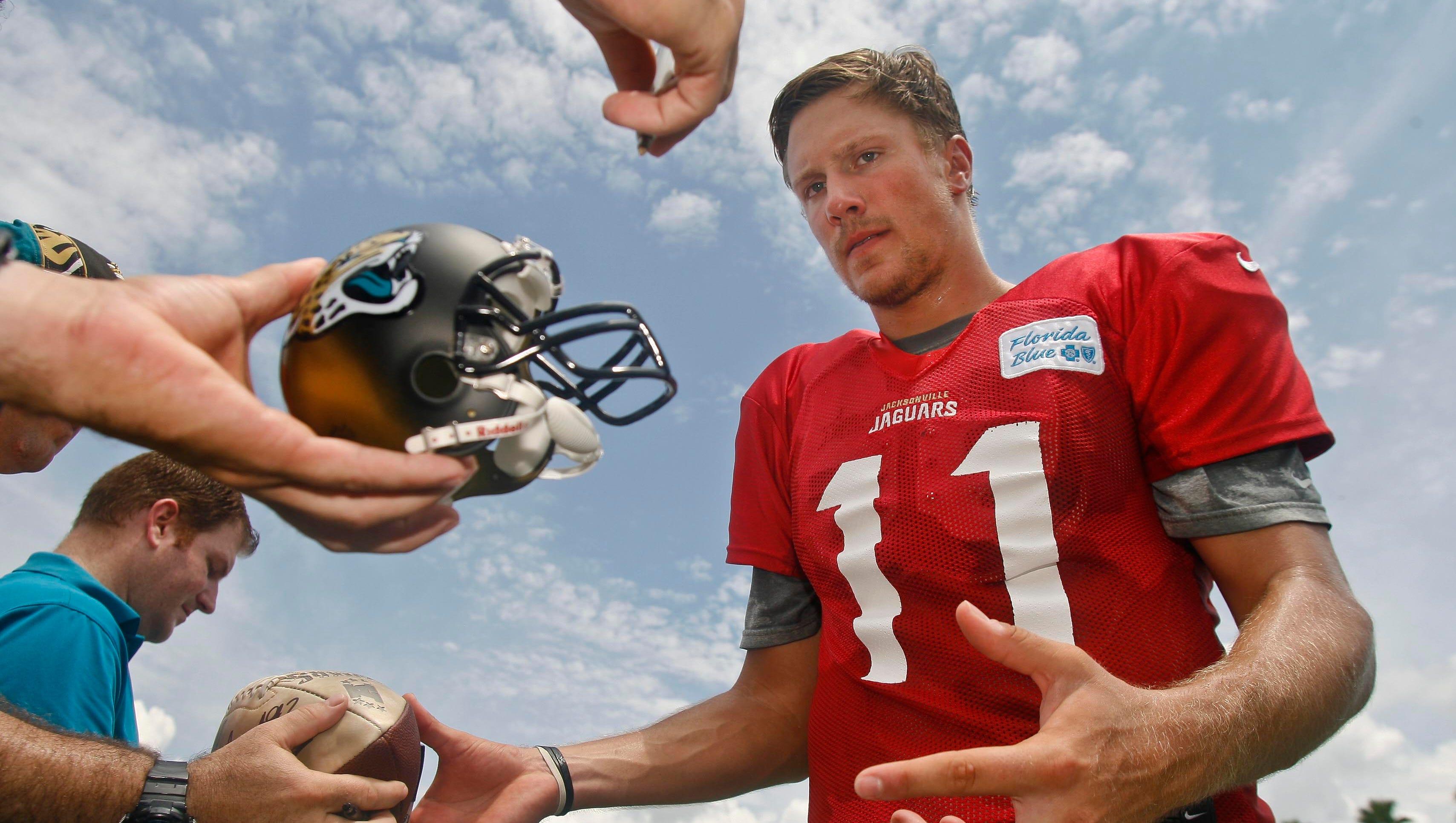 32. Blaine Gabbert, Jacksonville Jaguars