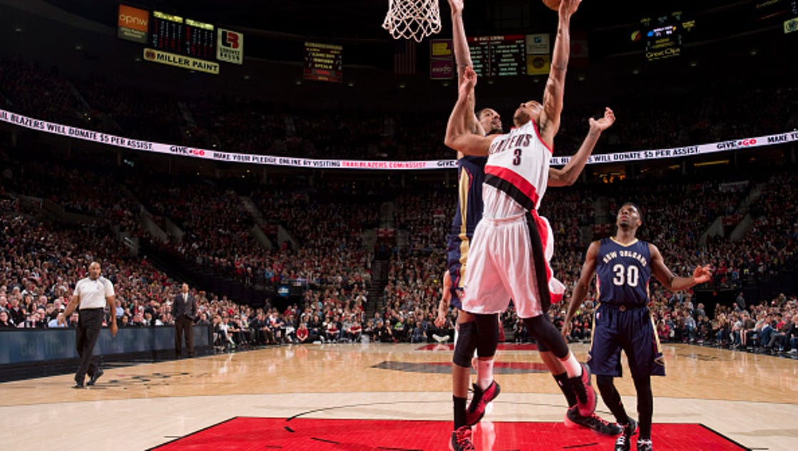 Pels fall to Portland - 1 game back in playoff hunt