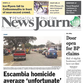 Delivery of today's PNJ print edition has been delayed until about 8:30 a.m.