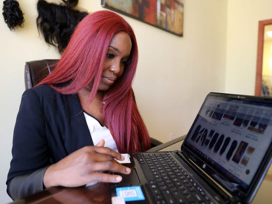 Entrepreneur Tamika Douglas of Mount Vernon, the owner