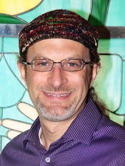 Rabbi Micah Becker-Klein of Temple Beth El in Newark was invited to the White House menorah-lighting