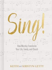 "The cover of Keith and Kristyn Getty's new book ""Sing!""."