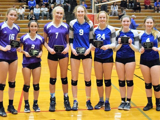 10th Region vooleyball all-tournament: All-Tournament: