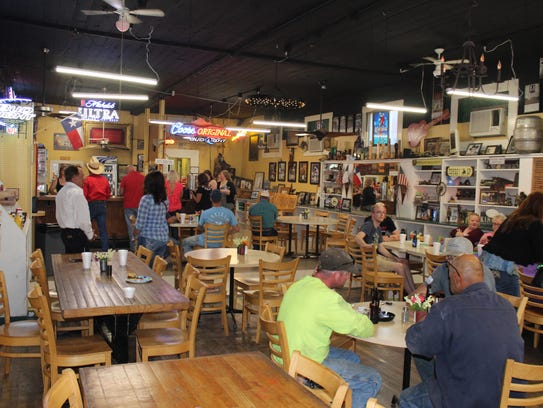 The former lumberyard store now is the place to eat,