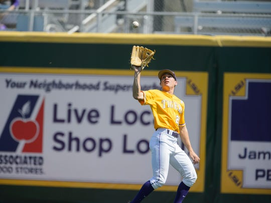Although LSU right fielder Antoine Duplantis has become a star on the Tigers' baseball team, he did not always attract so much attention.