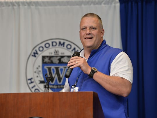 For the second year in a row, Woodmont athletic director