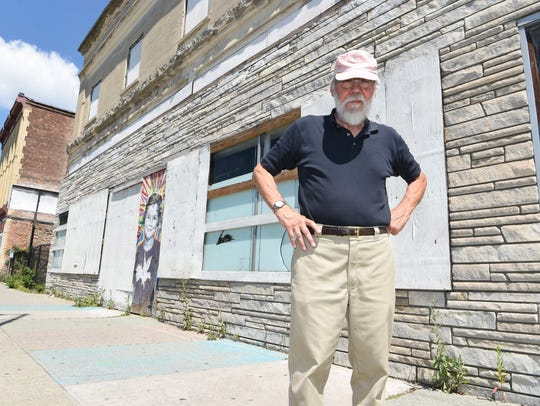 Roy Budnik, a geologist, Town of Poughkeepsie resident,