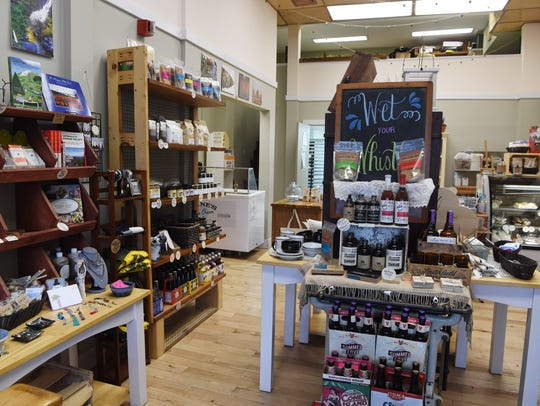 A view of the interior of Duo Pantry in Kingston.
