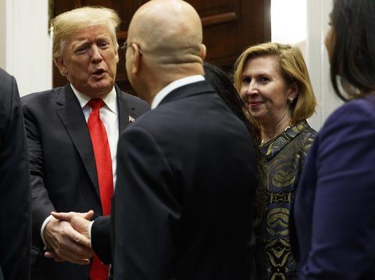 Donald Trump,Mira Ricardel
