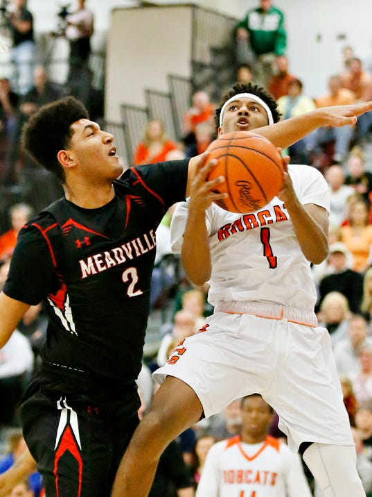 Northeastern vs Meadville PIAA Class 5A boys basketball semifinal