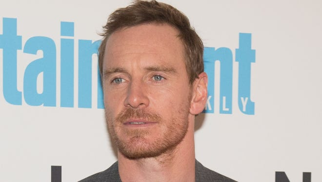 Michael Fassbender at the 'Alien: Covenant' screening on May 15, 2017 in New York.
