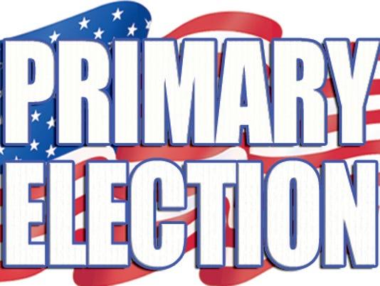 Primary Election Stock Photo