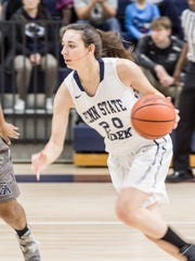 Karra Thomason is averaging 10.6 points and 9.8 rebounds