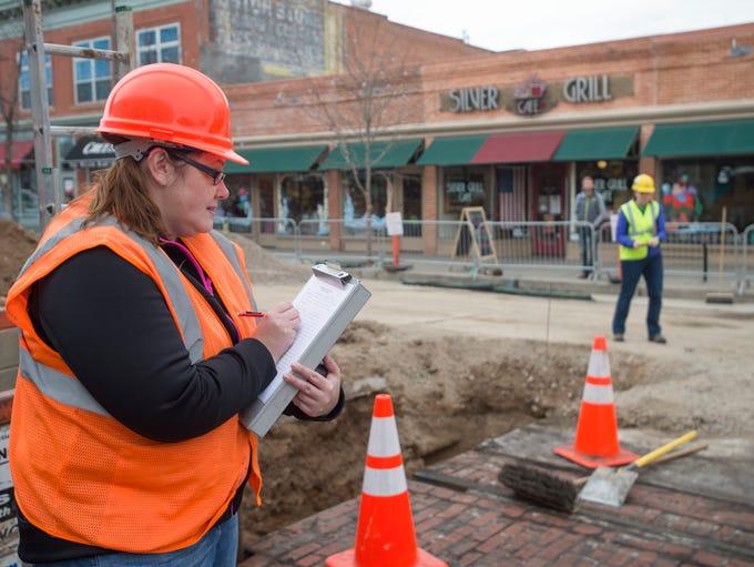 Kristin Gensmer of Centennial Archeology records details