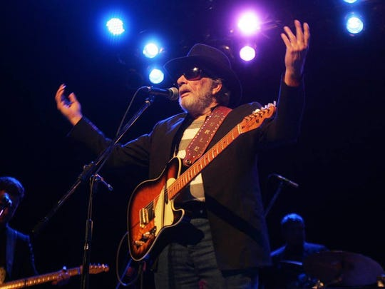 Merle Haggard performs Dec. 14, 2014, at the Redding Civic Auditorium. It was his last concert in Redding.