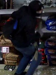Surveillance footage from Baker's Hardware in Millsboro