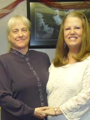 Cindy Cox, married to Tracy Kay