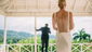 A couple does the big reveal before their wedding at