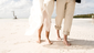 The best thing about Caribbean weddings? No shoes required.