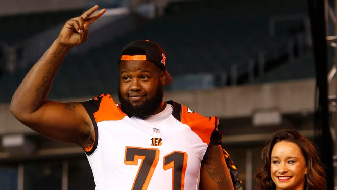 Bengals offensive tackle Andre Smith.