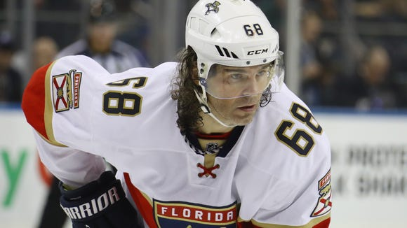 Jaromir Jagr's Florida Panthers are middling in mediocrity.