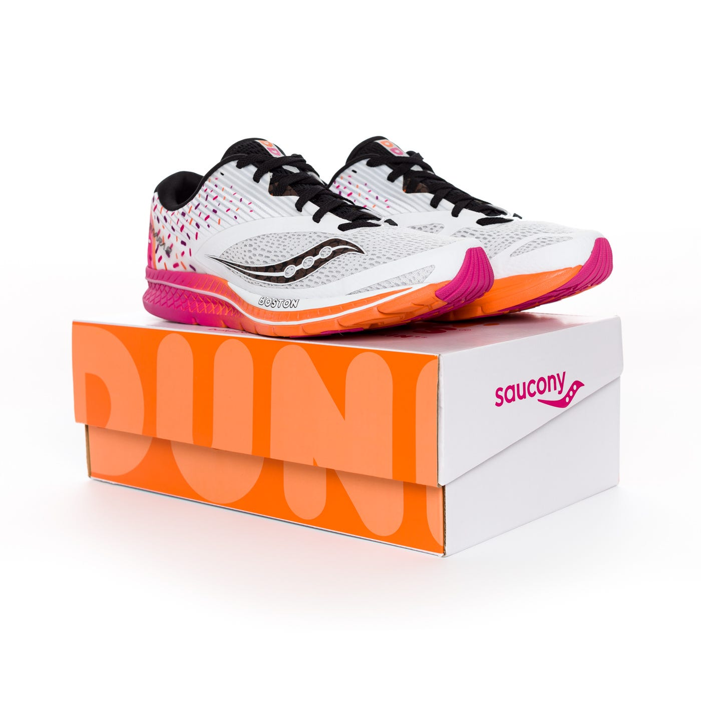 Dunkin' Donuts, Saucony launch a