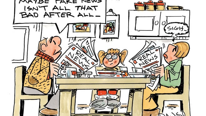 Charlie Daniel cartoon for Dec. 21, 2016