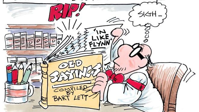 Charlie Daniel cartoon for Feb. 17, 2017