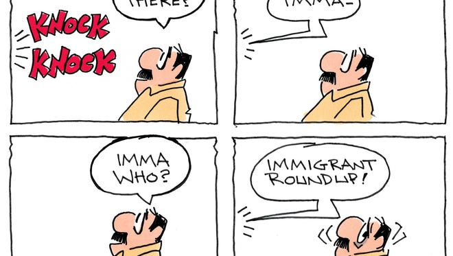 Charlie Daniel cartoon for Feb. 23, 2017