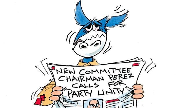 Charlie Daniel cartoon for March 1, 2017