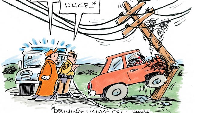 Charlie Daniel cartoon for March 6, 2017