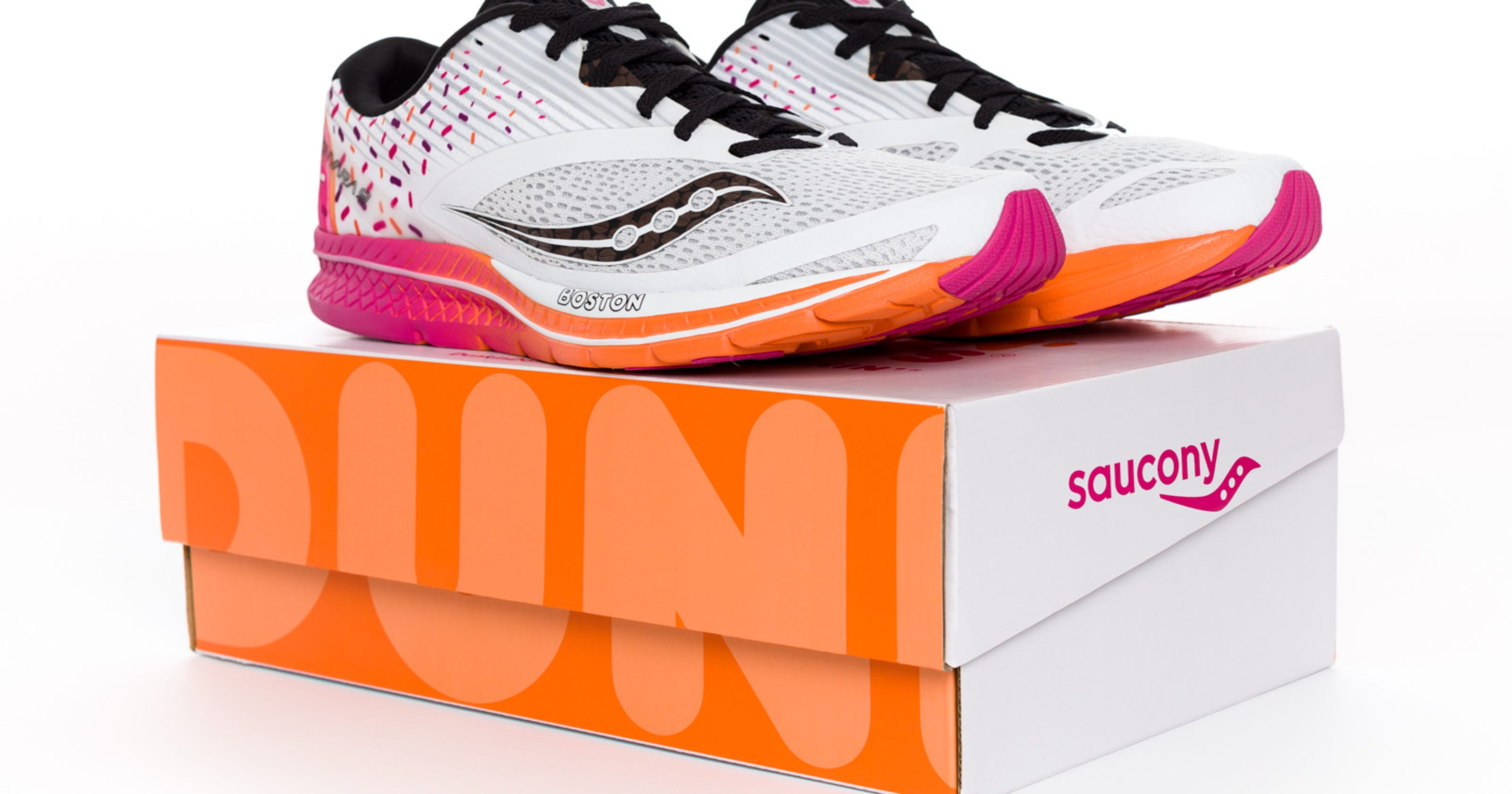 official photos 2b852 6cb6a Dunkin' Donuts, Saucony launch a doughnut-inspired sneaker