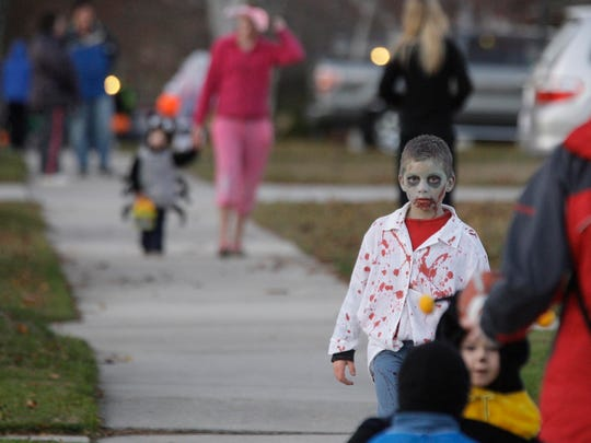 Sheboygan will hold trick-or-treating from 4 to 7 p.m. on Halloween night.