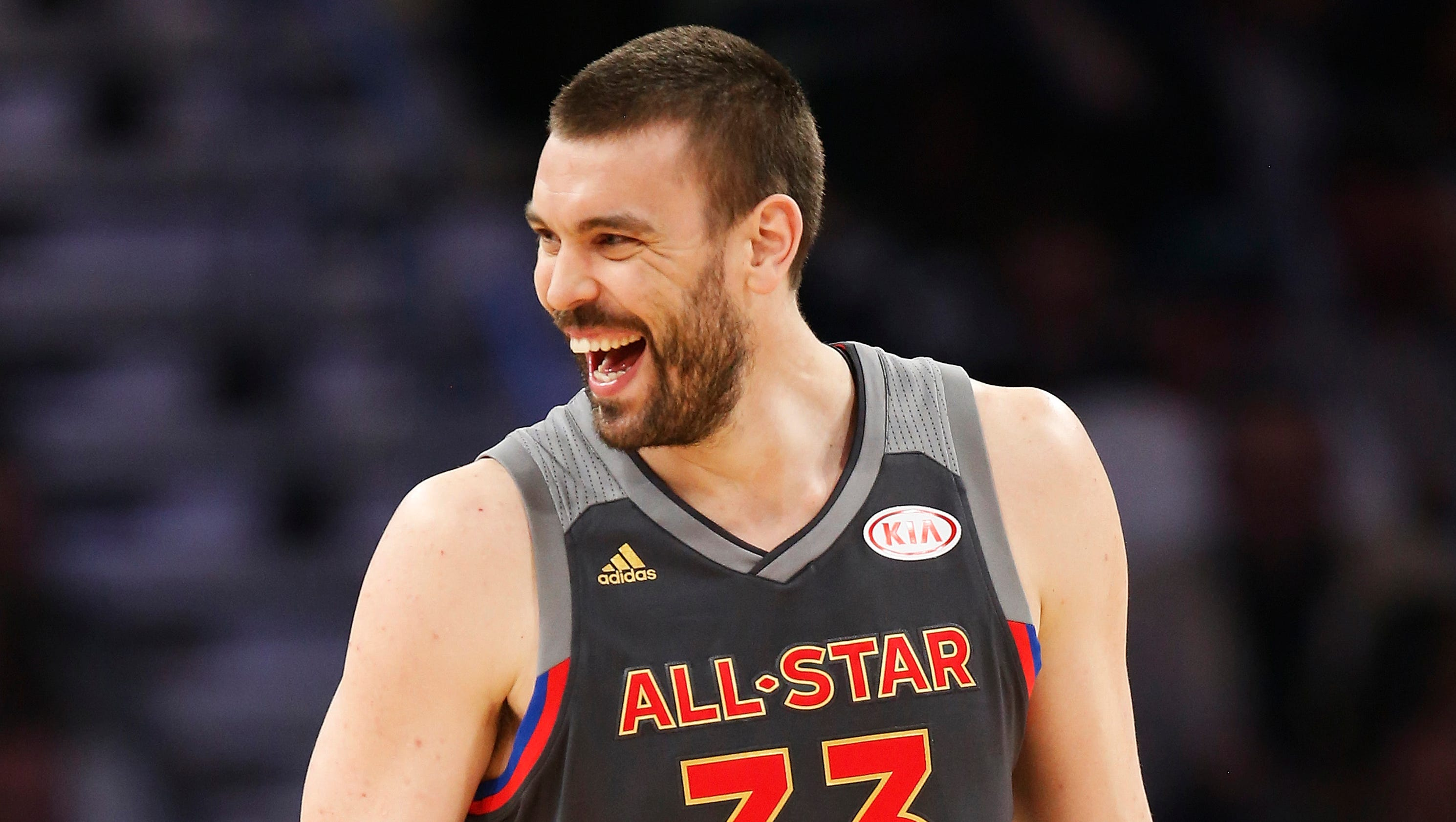 Marc Gasol at the NBA All-Star Game