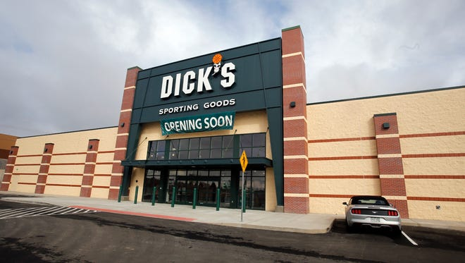 The new Dick's Sporting Goods location is pictured Friday at 5050 E. Main St. in Farmington.