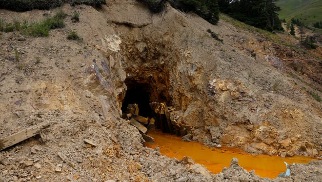 The Gold King Mine is pictured Aug. 10 north of Silverton, Colo.
