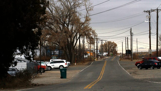 Sandstone Avenue is pictured Friday at the intersection of U.S. Highway 64 in Farmington. The city is securing a loan that will provide for upgrades for water pipelines in the area.